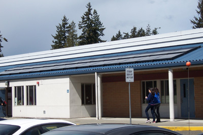 Einstein Middle School Solar Panels