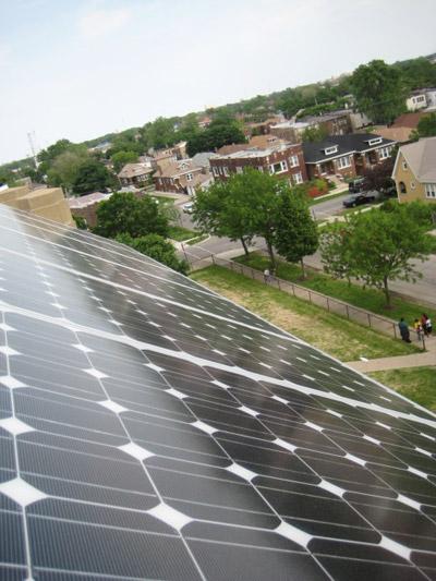 Gage Park Solar Panel