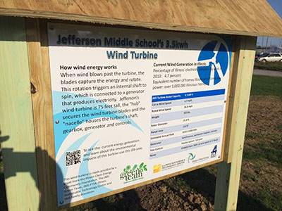 Wind Turbine Sign
