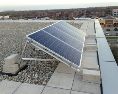 HawthornTownline Dual Language Solar Panels